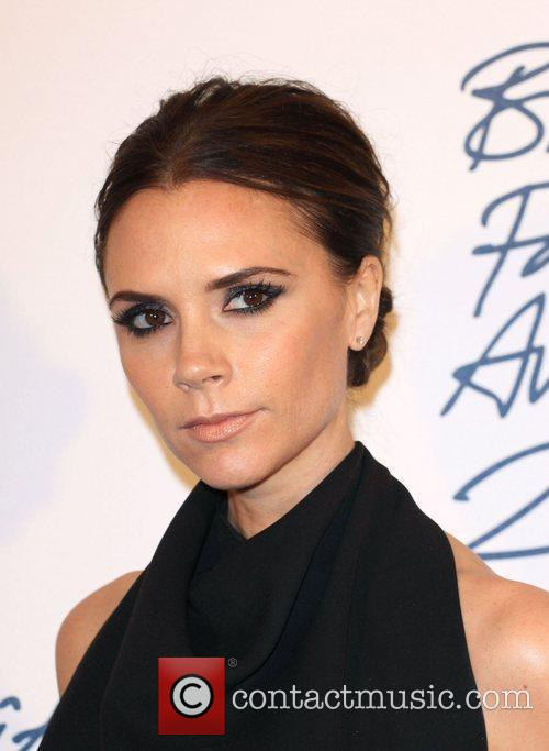 victoria beckham british fashion awards 2011 held 3631017