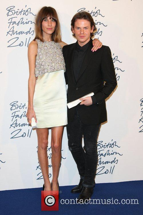 Alexa Chung and Christopher Kane British Fashion Awards...