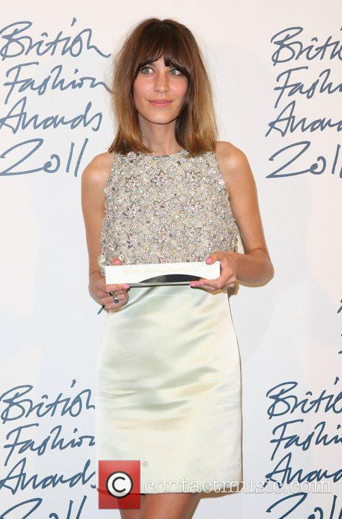Alexa Chung British Fashion Awards 2011 held at...