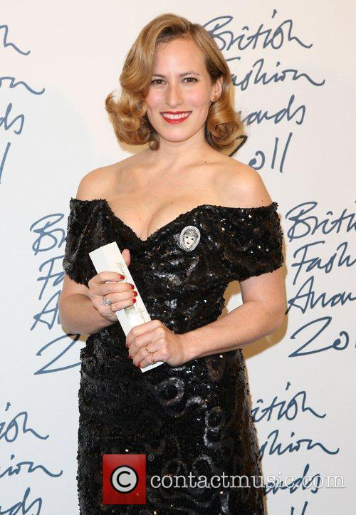 Charlotte Dellal British Fashion Awards 2011 held at...