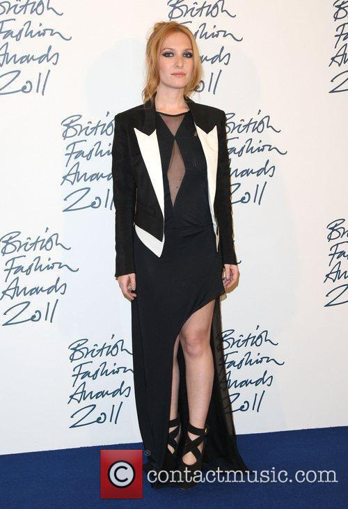 Josephine de la Baume British Fashion Awards 2011...