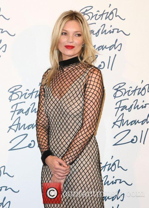 Kate Moss British Fashion Awards 2011 held at...