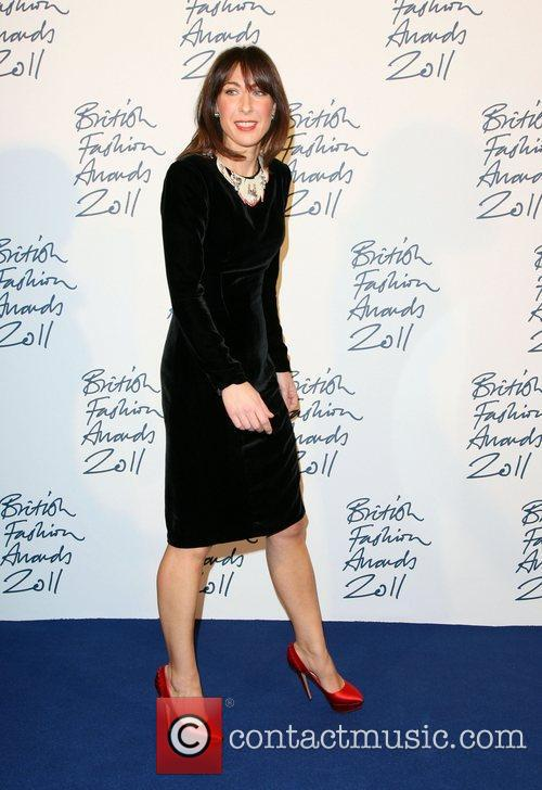 Samantha Cameron British Fashion Awards 2011 held at...