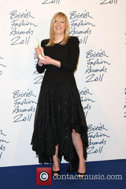 Sarah Burton, designer of the year British Fashion...