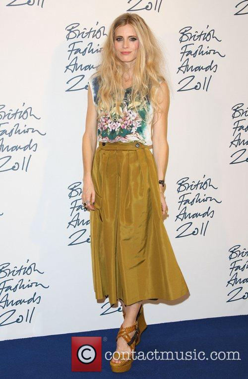 Laura Bailey British Fashion Awards 2011 held at...
