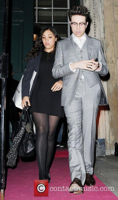 Miquita Oliver and Nick Grimshaw Debut hosted by...