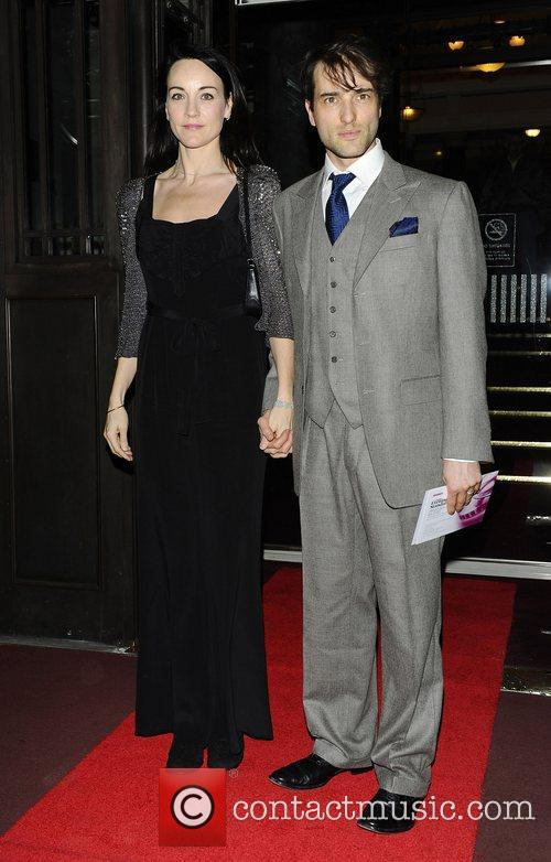 Ed Stoppard and guest,  at the London...