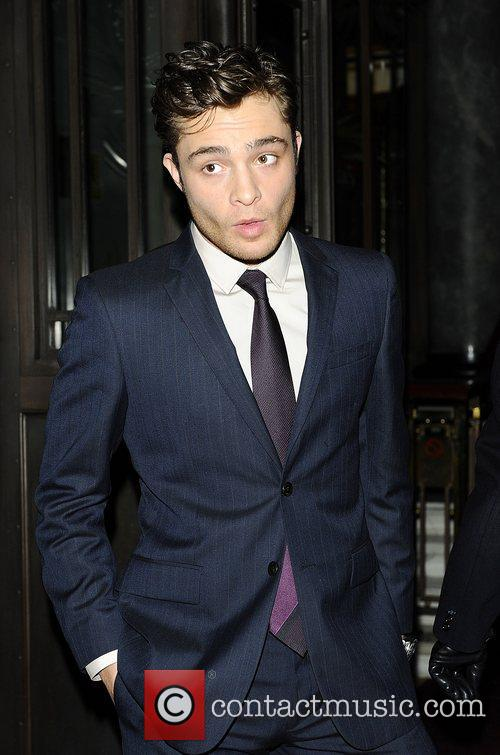 Ed Westwick,  at the London Evening Standard...