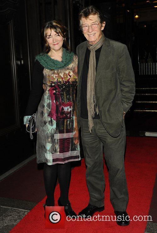 At the London Evening Standard British Film Awards...