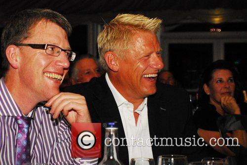 Peter Schmeichel Day Two of The Homefoods British...