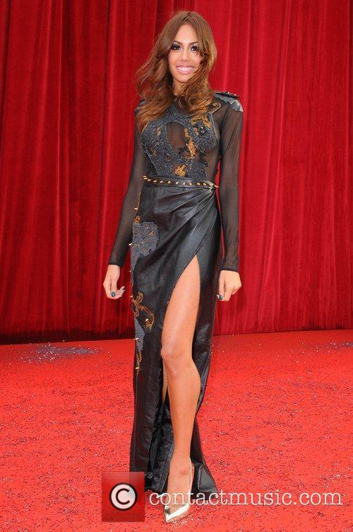 Jade Ewen The British Soap Awards at Granada...