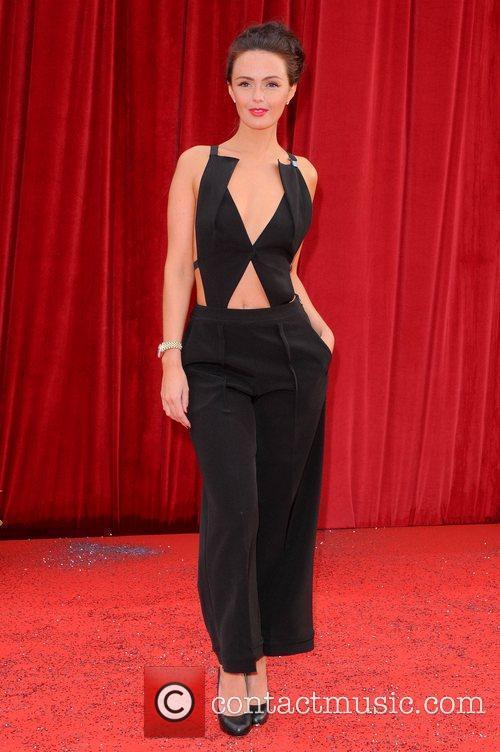 Jennifer Metcalfe The British Soap Awards at Granada...