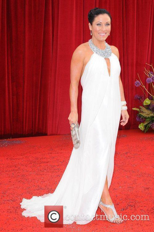 Jessie Wallace The British Soap Awards at Granada...