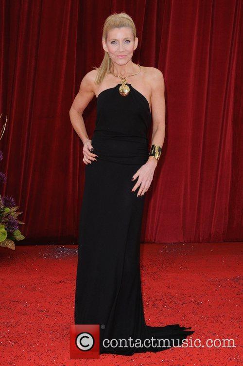 Michelle Collins The British Soap Awards at Granada...