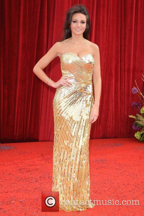Michelle Keegan The British Soap Awards at Granada...