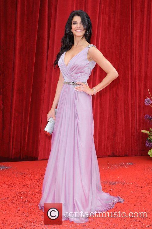 Natalie Anderson The British Soap Awards at Granada...