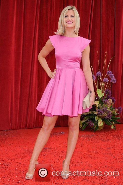 Sarah Jayne Dunn The British Soap Awards at...