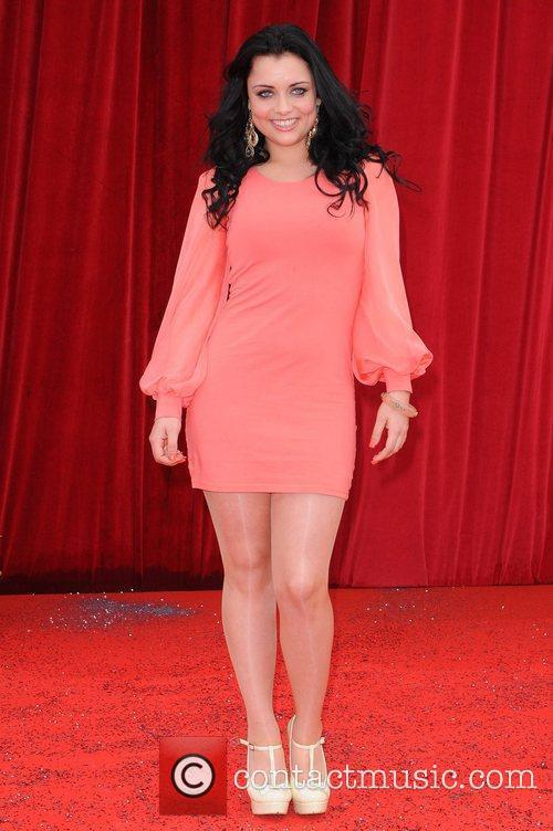 Shona McGarty The British Soap Awards at Granada...