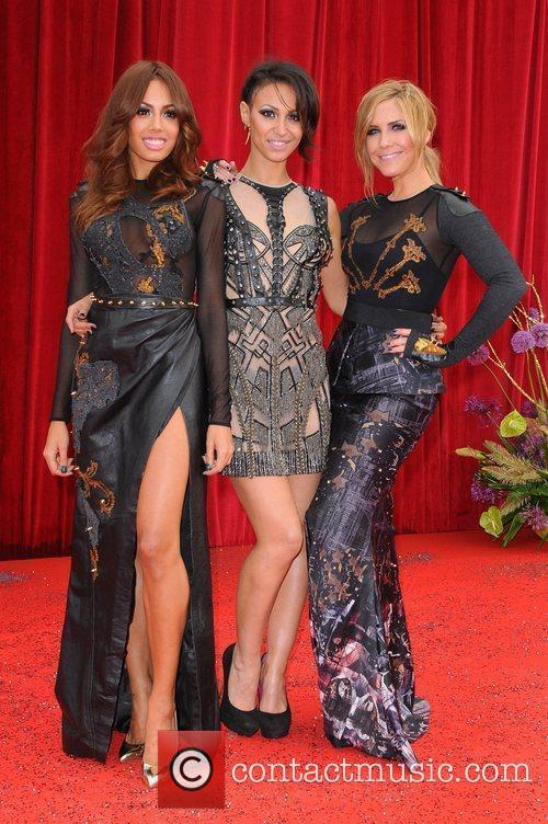 The Sugababes The British Soap Awards at Granada...