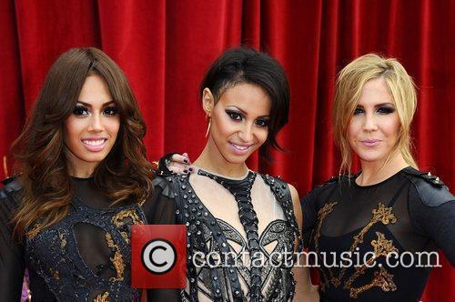 Jade Ewen, Amelle Berrabah and Heidi Range of...