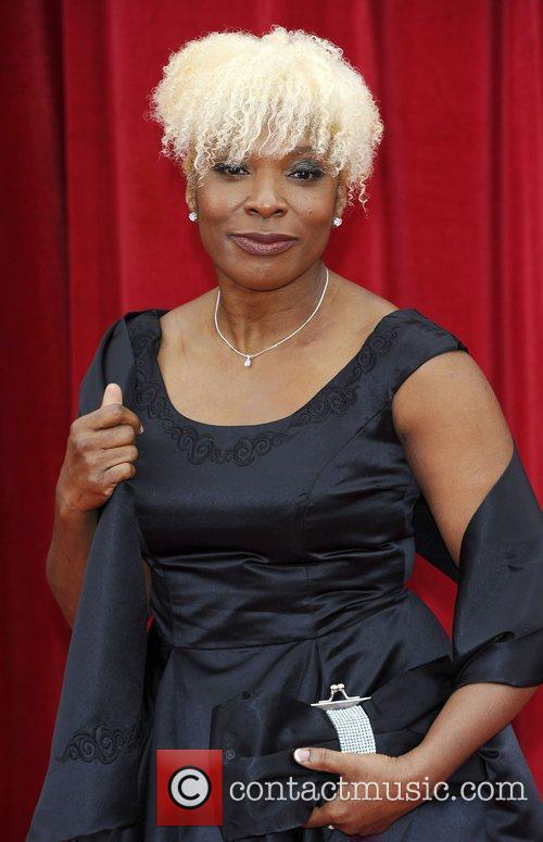 Lorna Laidlaw The British Soap Awards at Granada...