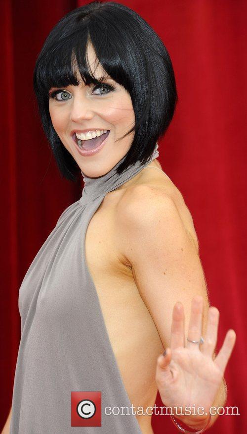 Stephanie Waring The British Soap Awards at Granada...