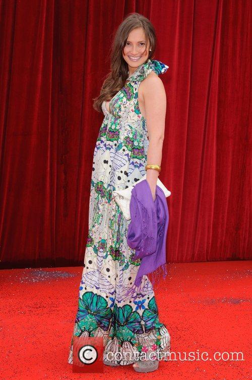 Alexis Peterman The British Soap Awards at Granada...