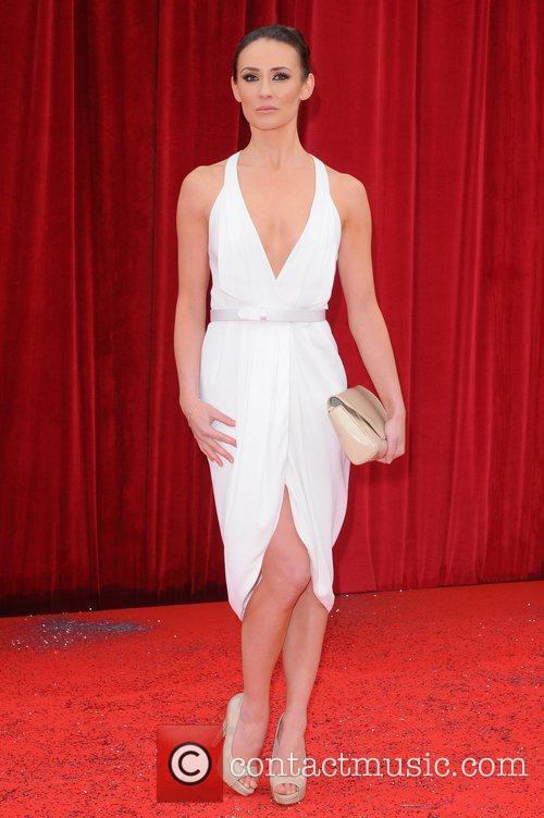 Claire Cooper The British Soap Awards at Granada...
