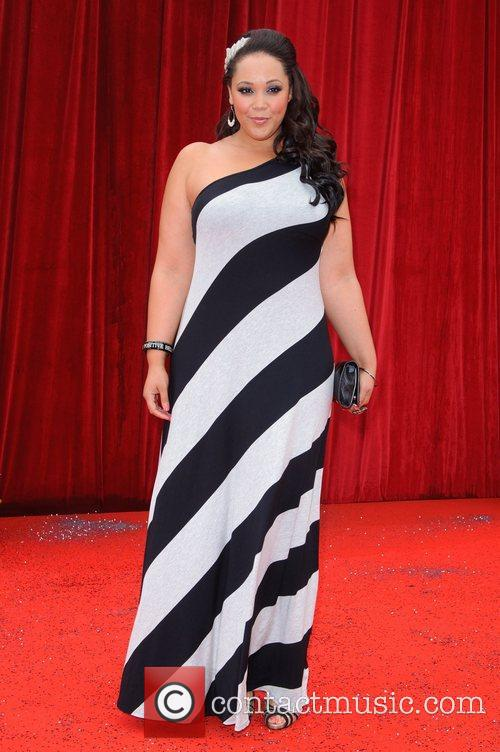 Donnaleigh Bailey The British Soap Awards at Granada...