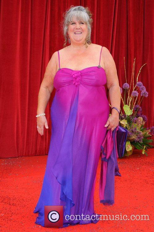 Jane Cox The British Soap Awards at Granada...