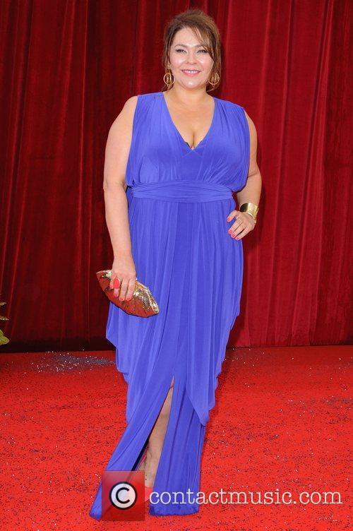 Nicole Barber-Lane The British Soap Awards at Granada...