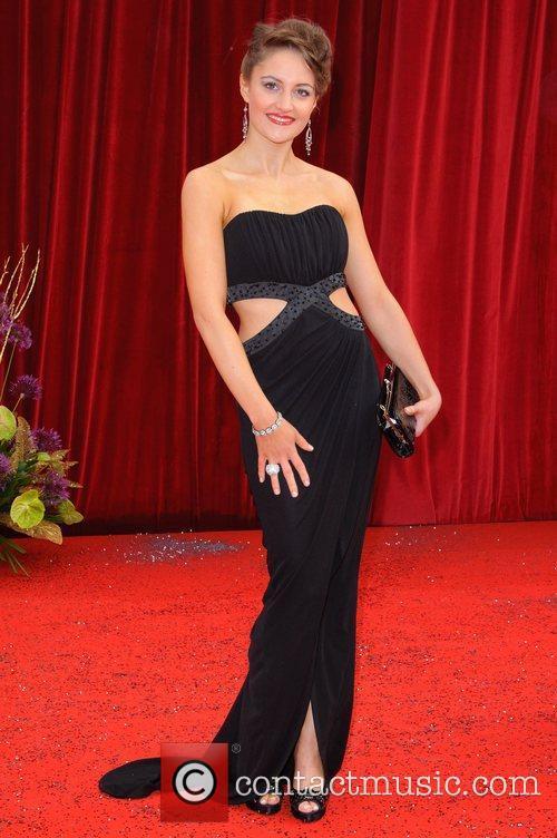 Paula Lane The British Soap Awards at Granada...