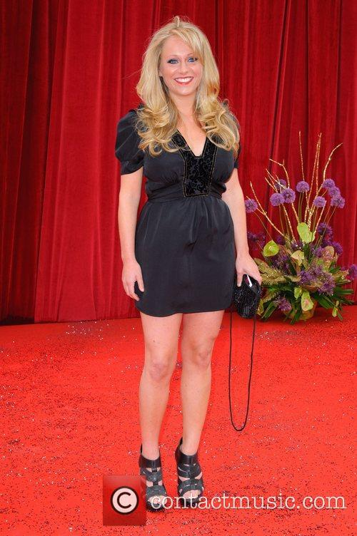 Sophie Abelson The British Soap Awards at Granada...