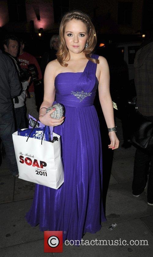 Lorna Fitzgerald Celebrities arrive back at their hotel...
