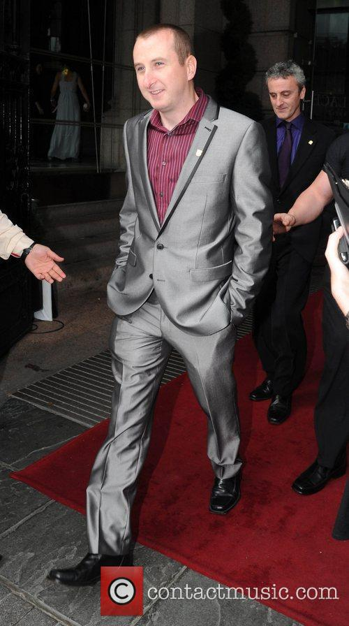 Andy Whyment The British Soap Awards at Granada...