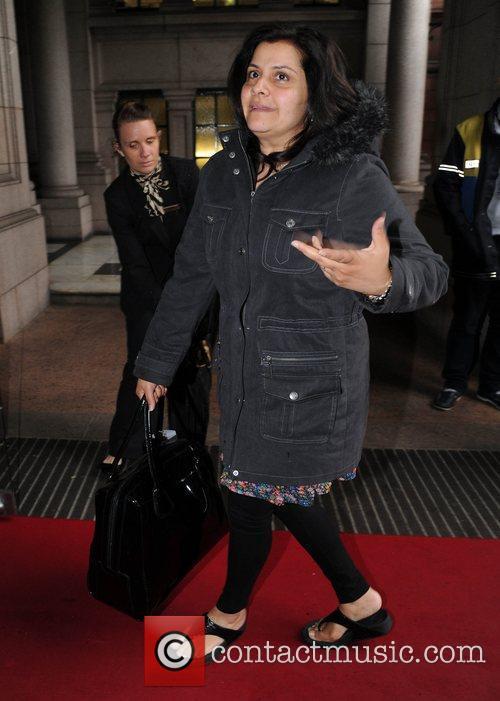 Nina Wadia The British Soap Awards at Granada...