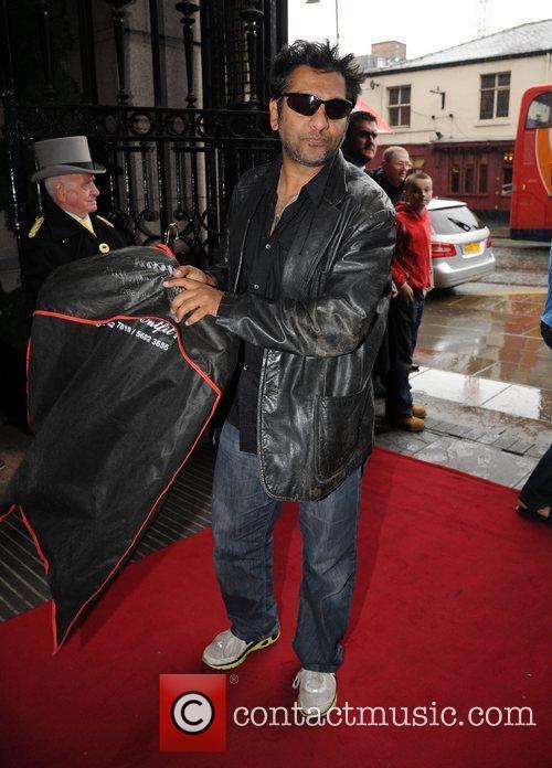Nitin Ganatra The British Soap Awards at Granada...