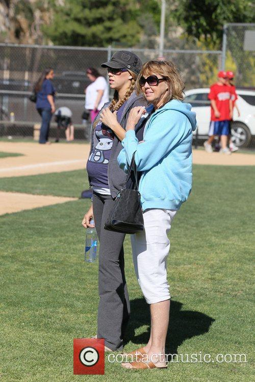 Victoria Prince and her mother  Britney Spears,...