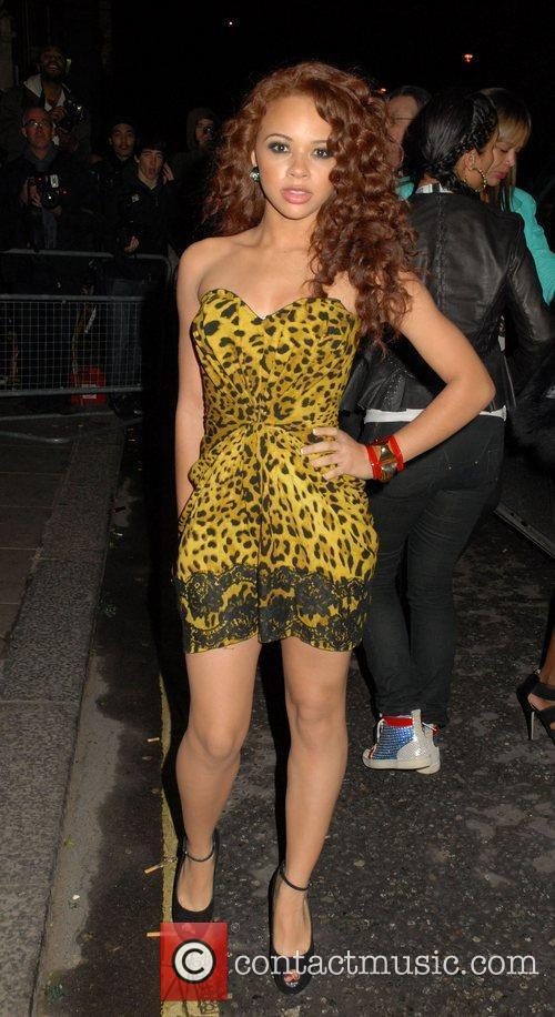 At The BRIT Awards 2011 afterparty held at...