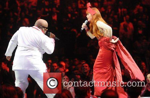 Cee-lo Green and Paloma Faith 7
