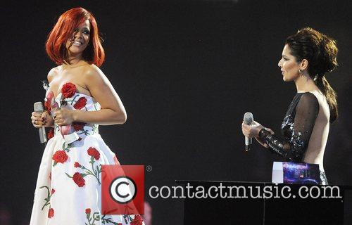 Rihanna and Cheryl Tweedy 10
