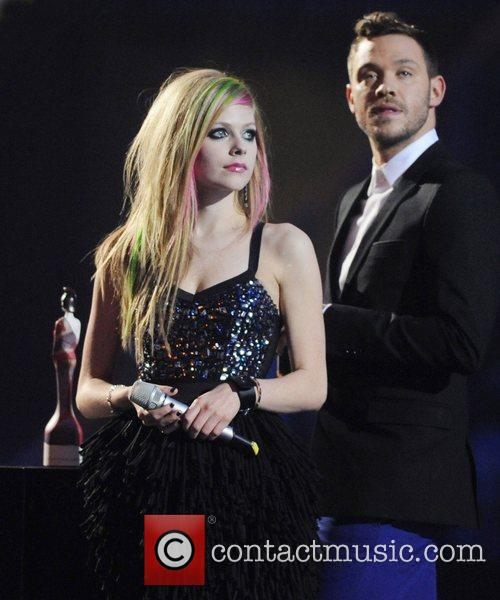 Avril Lavigne and Will Young 2
