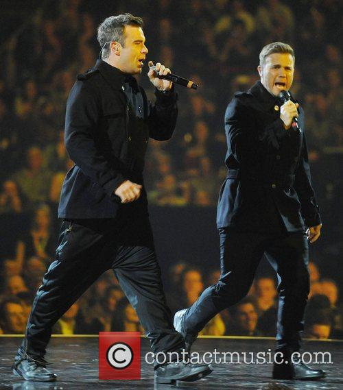 Robbie Williams, Gary Barlow and Take That 6