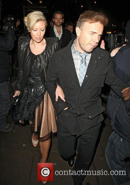 The BRIT Awards 2011 - departing from a...