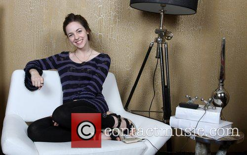 Brittany Curran Brittany Curran visits Gifting Services held...