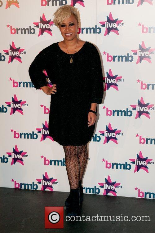 Emeli Sande BRMB Live 2011 Backstage Birmingham, England