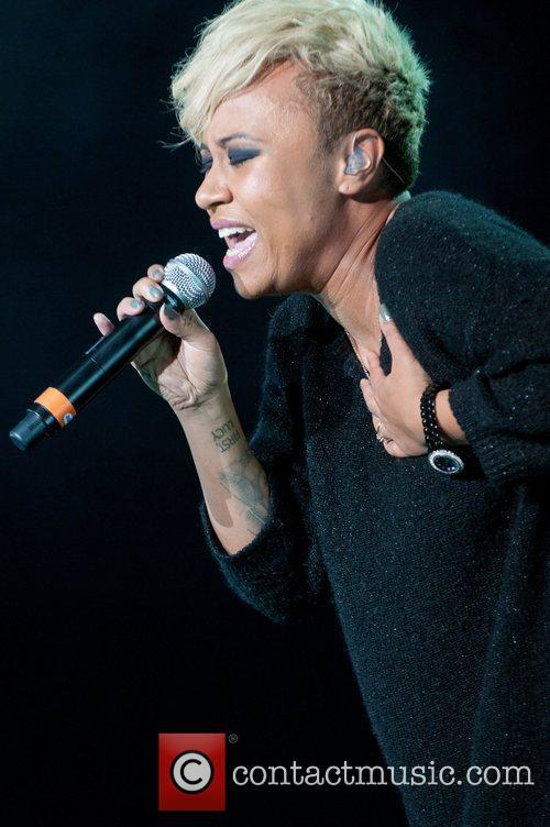 Emeli Sande Performing at BRMB Live 2011 at...