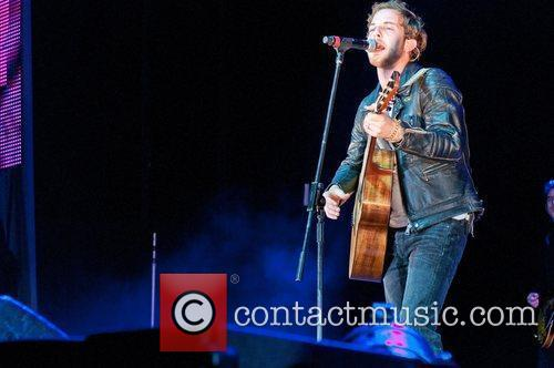 James Morrison Performing at BRMB Live 2011 at...