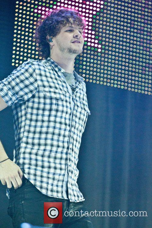 Jay McGuiness of The Wanted Performing at BRMB...