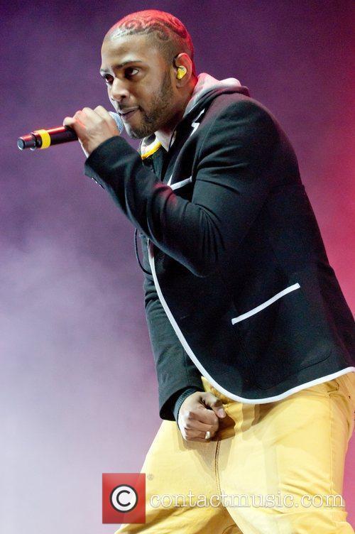 JB of JLS Performing at BRMB Live 2011...